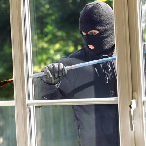 burglar proof window film