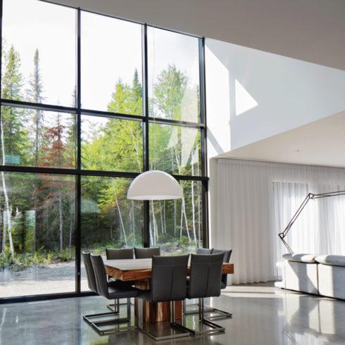transparent home window tinting